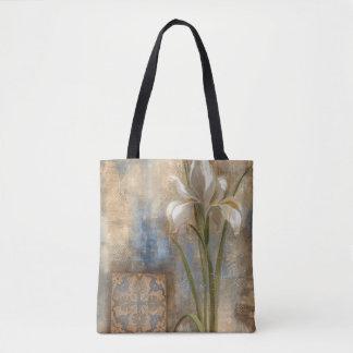 Iris and Tile Tote Bag