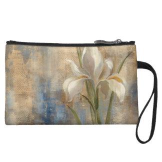 Iris and Tile Wristlet