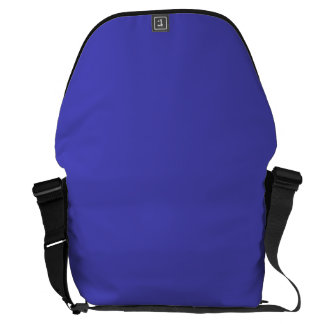 IRIS BLUE (solid flowery color) ~ Courier Bags