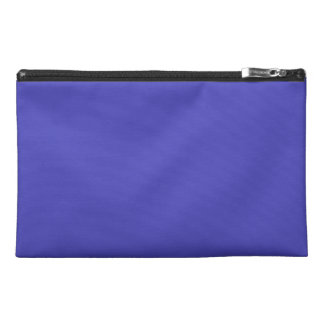 IRIS BLUE (solid flowery color) ~ Travel Accessories Bag