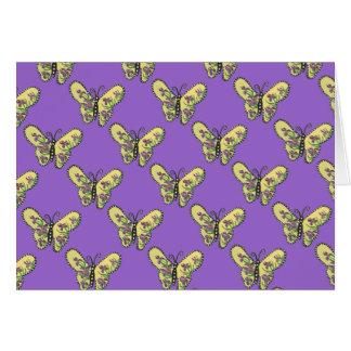 Iris Butterfly Blank Inside card