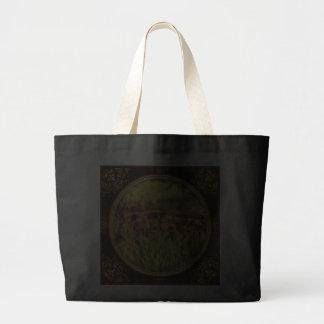 Iris - By the Bridge Tote Bags
