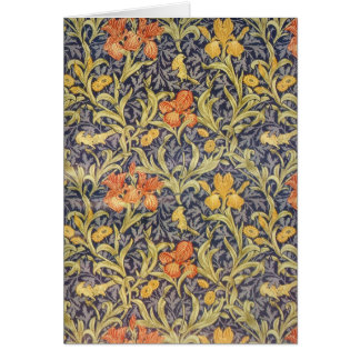 """Iris"" by William Morris Card"