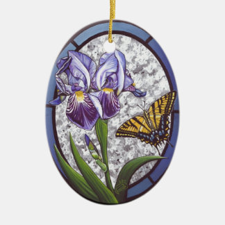 Iris Christmas Ornament