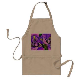 Iris Color Violet Standard Apron