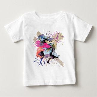 Iris Dancing Fairy Abstract Art Floral Flowers T-shirt