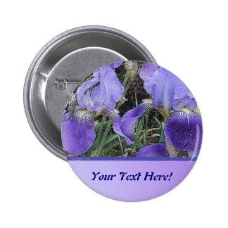 Iris Dapple Blend Pin