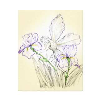 Iris Fairy Canvas