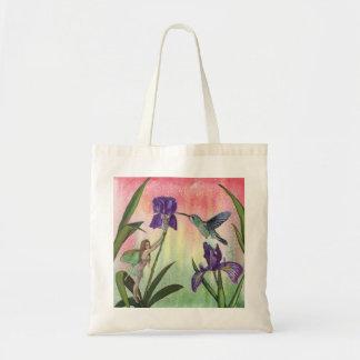 Iris Fairy Tote Bag