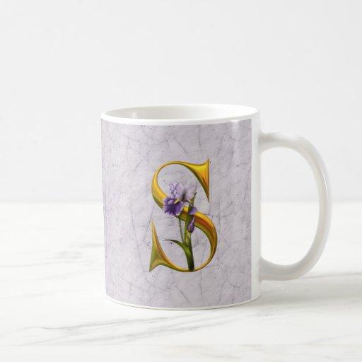 Iris Fantasy Wedding Mugs