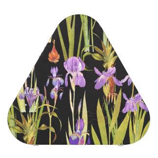 Iris Floral Botanical Flowers Pieladium Speaker