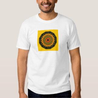 Iris, Floral mandala-style T Shirts