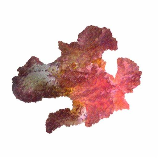 iris flower (digital image) photo sculpture