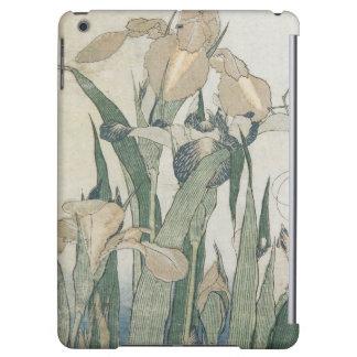 Iris Flowers and Grasshopper, c.1830-31