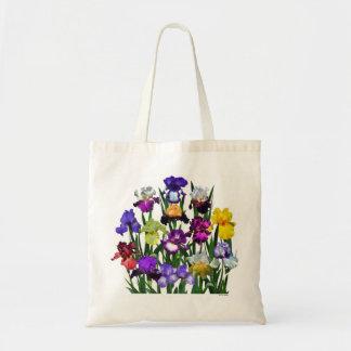 Iris Garden Budget Tote Bag