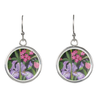 Iris Garden Earrings