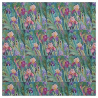 Iris Garden Fabric
