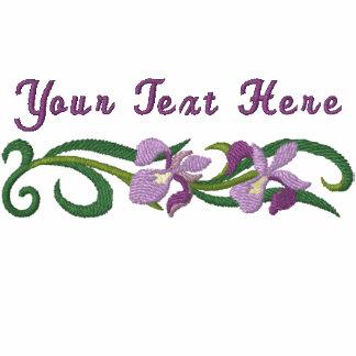 Iris Garden Hoodies