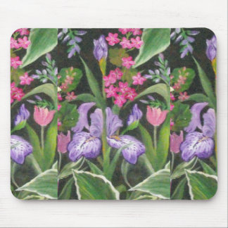 Iris Garden Mouse Mat
