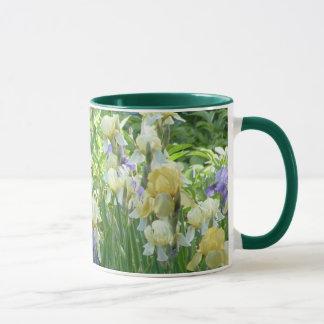 IRIS GARDEN mug