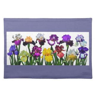 Iris Garden Placemat