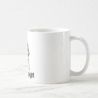 Iris Geisha Kitty Basic White Mug
