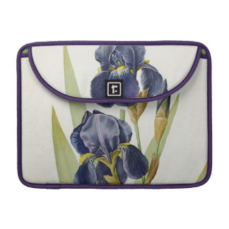 Iris Germanica, from `Les Liliacees', 1805 MacBook Pro Sleeve