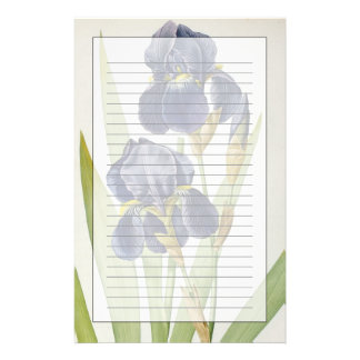 Iris Germanica, from `Les Liliacees', 1805 Stationery