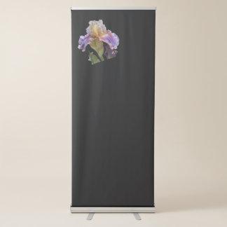 iris gladiolus in the garden retractable banner
