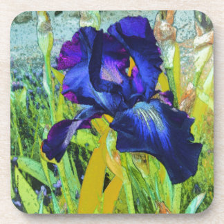 Iris Harmonies Drink Coaster