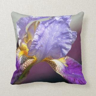 Iris in Spring Cushion