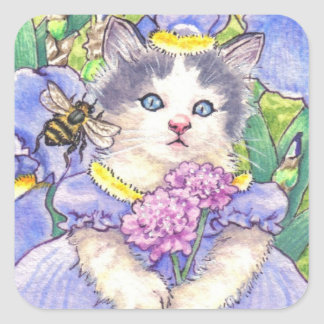 Iris Kitten stickers