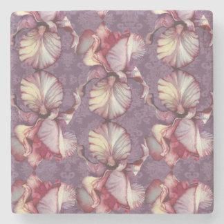 Iris Lace, Vintage Lavender Stone Coaster