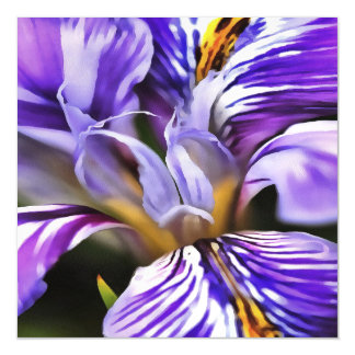 Iris Magnetic Invitations