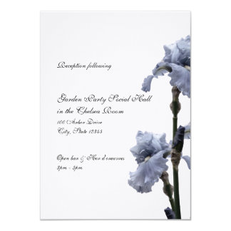 Iris of Blue Reception Card
