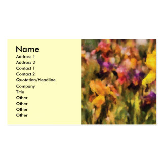 Iris - Orchestra Pack Of Standard Business Cards