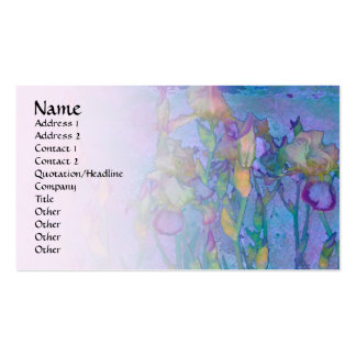 Iris Row 2 Pale Blend Profile Card Pack Of Standard Business Cards
