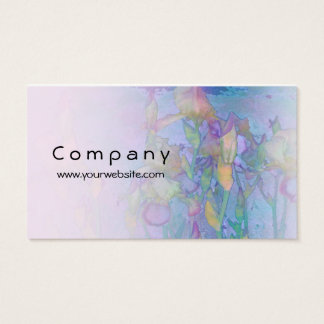 Iris Row Light Blend Business Card