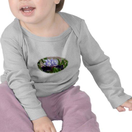 Iris-two toned purple t shirts