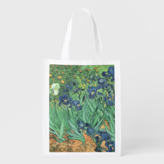 Irises 1889 grocery bags