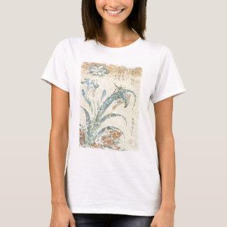 Irises and Kingfisher T-Shirt