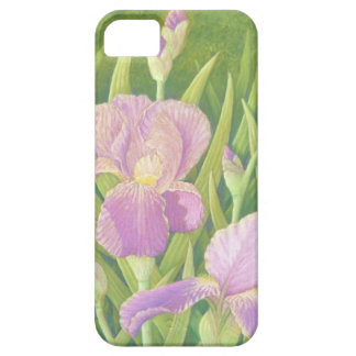 Irises at Wisley Gardens in Surrey in Pastel iPhone 5 Covers