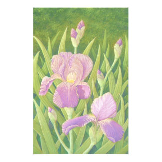 Irises at Wisley Gardens, Surrey Basic Stationery