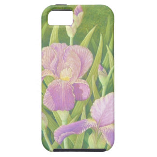 Irises at Wisley Gardens, Surrey in Pastel iPhone 5 Covers