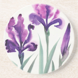 Irises Beverage Coaster