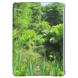 Irises by Pond, Richmond Park iPad Air Case