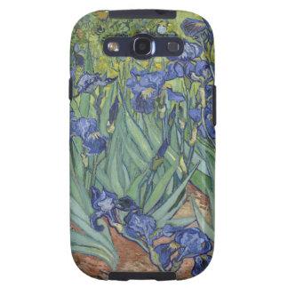 Irises by Van Gogh Blue Iris flowers Galaxy SIII Case
