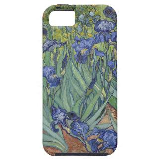 Irises by Van Gogh Blue Iris flowers iPhone 5 Case