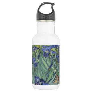 Irises by Van Gogh Blue Iris flowers 18oz Water Bottle