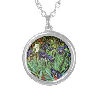 Irises by Van Gogh Fine Art Pendants